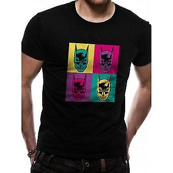 Batman Unisex aikuiset Pop Art Design T-paita