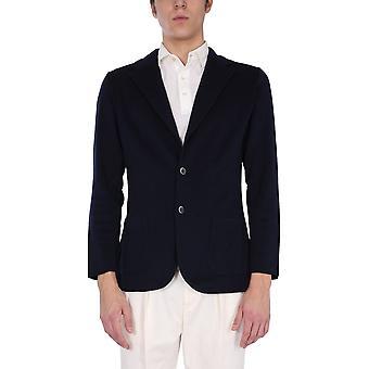Lardini Elljm56850 Men's Blue Cotton Blazer