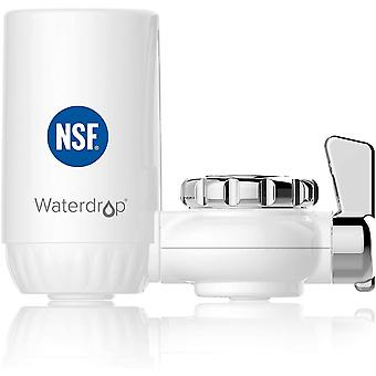 Waterdrop NSF Certified 1200-Liters Long-Lasting Faucet Filtration System, Tap Water Filter