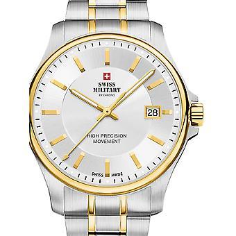 Reloj masculino militar suizo por Chrono SM30200.05, cuarzo, 39 mm, 5ATM