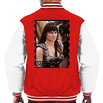 Xena Warrior Princess Redemption Män's Varsity Jacket