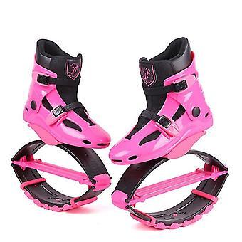 المرأة الكنغر في الهواء الطلق ترتد الأحذية الرياضية أحذية رياضية القفز الأحذية