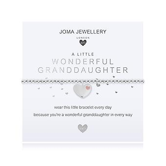 Joma Jewellery Children's A Little Wonderful Neta Silver 15.5cm Stretch Bracelet C497