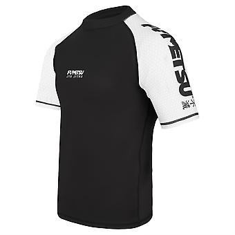 Fumetsu Concurrent MK1 Short Sleeve Rash Guard Blanc