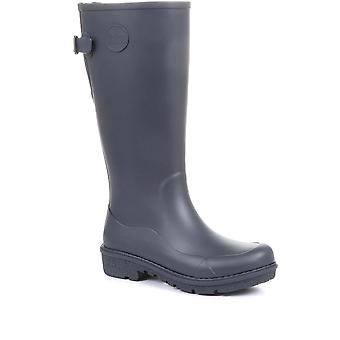 FitFlop Womens AH7 WonderWelly Long Wellington Boots