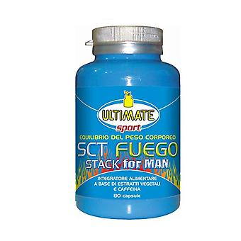 Sct Fuego Stack For Man 80 capsules