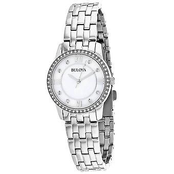 Bulova Women's Classic Pearl Dial Watch - 96X155