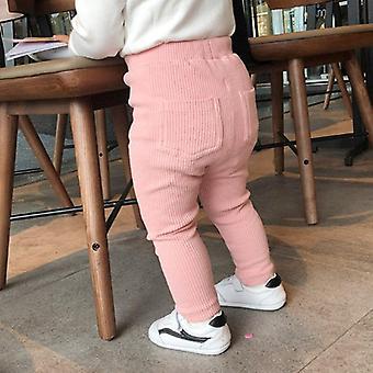 Детские леггинсы Хлопок Big Pp Высокий Waist Длинные брюки Брюки