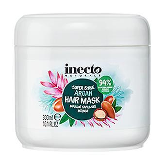 髪の毛のための純粋な有機アルガンオイルと栄養アルガンマスク 300 ml クリーム