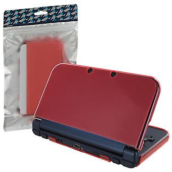 Zedlabz soft gel protective armortpu case for new 3ds xl - frosted rose pink