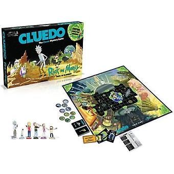 Cluedo rick and morty board game