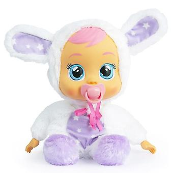 Baby doll cry babies imc toys (30 cm) white with bunny ears