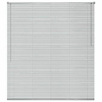 """חלון vidaXL מעוור אלומיניום 80x160 ס""""מ כסף"""