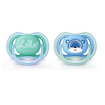 Avent Ultra Air Pacifiers 6 to 18 months 2 pcs