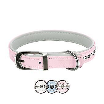 Trixie Collar Active Comfort con Piedrecitas Blanco