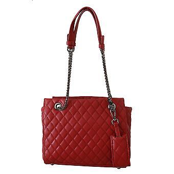 Ermanno Scervino Red Handbag Shoulder Purse Women Borse Leather Bag