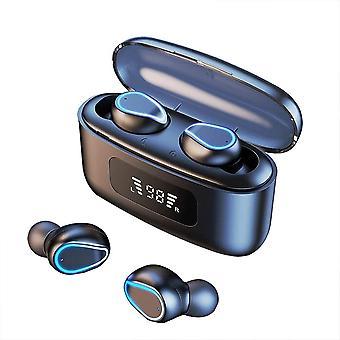 Bluetooth-oortelefoons, draadloze headsets, TWS Bluetooth-headsets 2200 mAh oplaadcase, draadloze oortelefoons met aanraakbediening