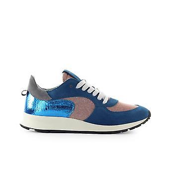 Philippe Modelo Montecarlo Glitter Mix Azul Lilac Sneaker