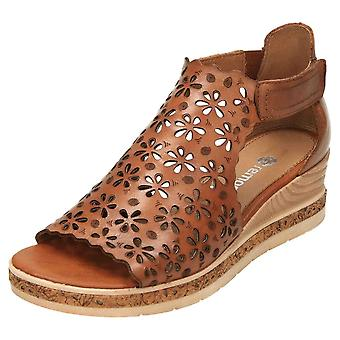 Remonte Wedge Heel Gladiator Sandals D3056-24 Peep Toe
