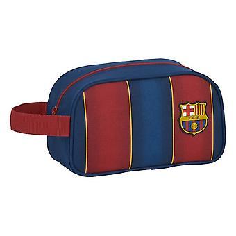 School Toilet Bag F.C. Barcelona 20/21 Maroon Navy Blue