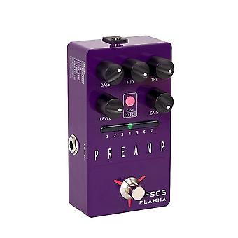 Fs06 Preamp Pedal Stereo Digital Guitar Effects Pedal