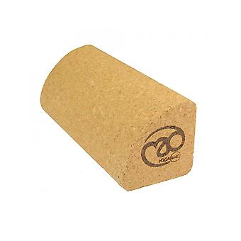 Fitness Mad Cork Quarter Block Yoga And Pilates Training Wooden Board