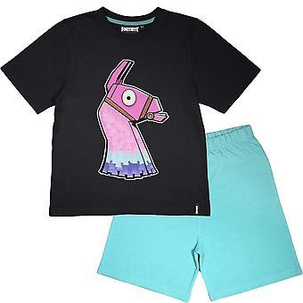 Fortnite Boys Glow A sötét láma pizsama set