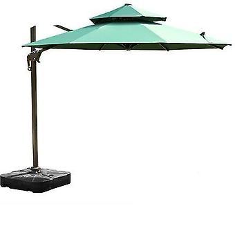 Terrass Paraply Romersk Paraply Monter Stort Solparaply Utomhus terrass Trädgård