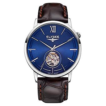 Elysee Analogueic Watch Automatic Unisex Adult with Leather Strap 77013