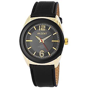 Akzent - Men's wristwatch, quartz, different materials SS7502500009
