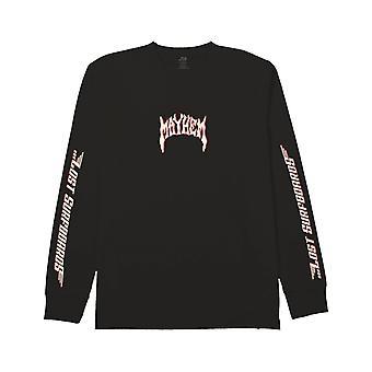 Lost Lost Boards Long Sleeve T-Shirt in Black
