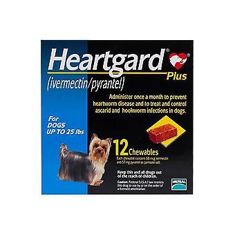 Heartgard Plus pro psy do 11 kg - 12 žvýkacích žvýkacích