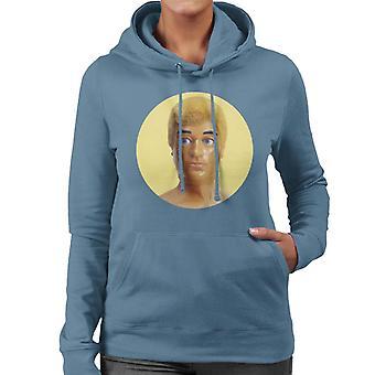 Action Man Blonde 70s Women's Hooded Sweatshirt