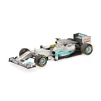 Mercedes Petronas W02 (Nico Rosberg - Showcar 2011) Diecast Model Car