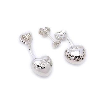 Amen cuore love cristalli earrings elo