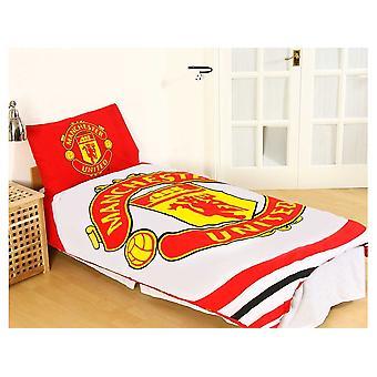 Man Utd Pulse Single Duvet and Pillow Case Set