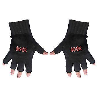AC/DC - Klasické červené logo bez prstov rukavice