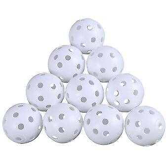 屋外トレーニングのための24pcsゴルフトレーニングボールエアフロー小さなゴルフ練習ボール