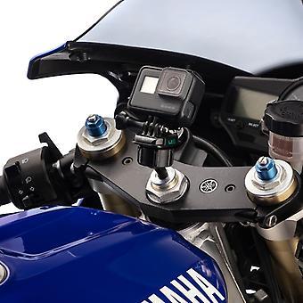 Motorsykkel gaffel stem sport sykkel montering kit for gopro helt kameraer