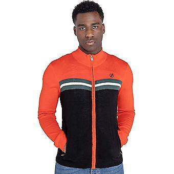 Dare 2b Herre Pligtopfyldende Hurtig tørring Fuld Zip strikket sweater