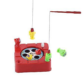 Brinquedos de pesca magnética elétrica crianças cor de brinquedo educacional enviar por aleatório
