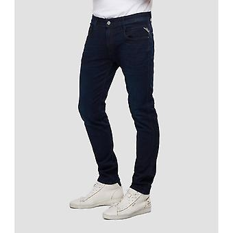 Replay Jeans Anbass Slim Fit Jeans - Dark Blue
