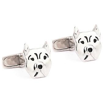 Jack & co pets - french bulldog cufflinks juc0009