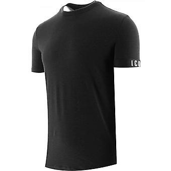 DSQUARED2 Zwart T-Shirt met ronde hals