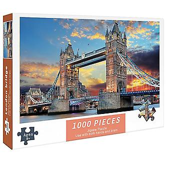 For aldult Toys Gift 1000 Pieces Paper Puzzles DIY Jigsaw Intellectual Game