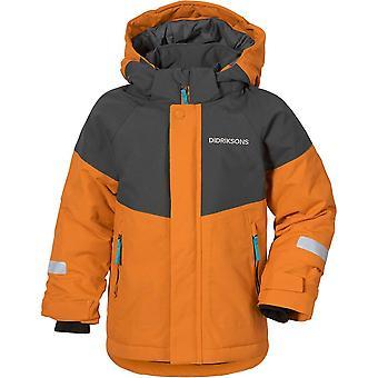 Didriksons Kid's Lun Jacket 3 - Burnt Glow