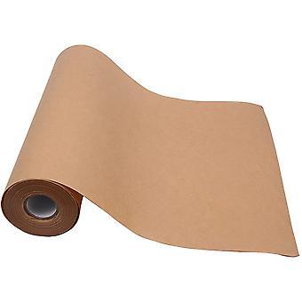 Kraftverpackung Papierrollen Geschenkverpackung Recycelte Naturpapierrollen für Handwerk, Post, Verpackung