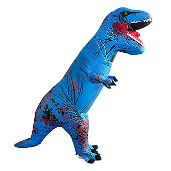 Tyrannosaurus Rex Lake Blue (felnőtt változat) Halloween Cosplay Tyrannosaurus Rex felfújható jelmez dinoszaurusz jelmez