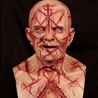 Halloween Adulte Bloody Zombie Effrayant Couverture Complète Couverture Cosplay Latex Masque