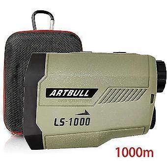 Laser Rangefinder For Hunting 1000m Golf Rangefinder With Flag Lock Tilt Pin Rangefinder Binoculars